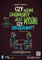 Is the Man Who Is Tall Happy?: An Animated Conversation with Noam Chomsky - Polish Movie Poster (xs thumbnail)