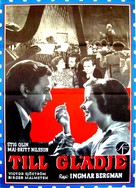 Till glädje - Swedish Movie Poster (xs thumbnail)