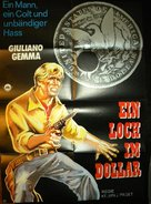 Un dollaro bucato - German Movie Poster (xs thumbnail)