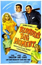 Blondie's Big Moment - Movie Poster (xs thumbnail)