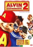 Alvin and the Chipmunks: The Squeakquel - Czech DVD cover (xs thumbnail)