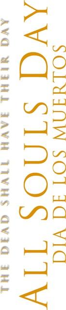 All Souls Day: Dia de los Muertos - Logo (xs thumbnail)