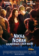 Nick and Norah's Infinite Playlist - German Movie Poster (xs thumbnail)