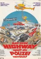 Deadline Auto Theft - German Movie Poster (xs thumbnail)