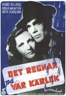 Det regnar på vår kärlek - Swedish Movie Poster (xs thumbnail)
