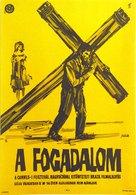 O Pagador de Promessas - Hungarian Movie Poster (xs thumbnail)