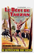 Tarzan's Three Challenges - Belgian Movie Poster (xs thumbnail)