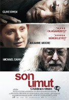 Children of Men - Turkish Movie Poster (xs thumbnail)