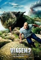 Journey 2: The Mysterious Island - Brazilian Movie Poster (xs thumbnail)