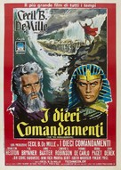 The Ten Commandments - Italian Re-release movie poster (xs thumbnail)