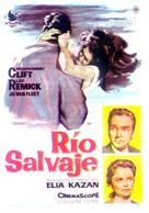 Wild River - Spanish Movie Poster (xs thumbnail)