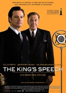 The King's Speech - German Movie Poster (xs thumbnail)