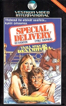 Special Delivery - Finnish VHS movie cover (xs thumbnail)