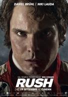Rush - Italian Movie Poster (xs thumbnail)