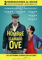 En man som heter Ove - Argentinian Movie Poster (xs thumbnail)