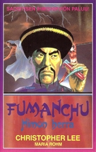The Blood of Fu Manchu - Finnish VHS movie cover (xs thumbnail)
