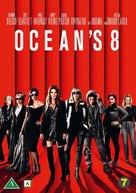 Ocean's 8 - Danish DVD cover (xs thumbnail)