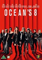 Ocean's 8 - Danish DVD movie cover (xs thumbnail)