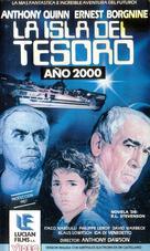 """Isola del tesoro, L'"" - Spanish VHS movie cover (xs thumbnail)"