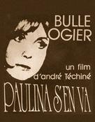 Paulina s'en va - French Movie Poster (xs thumbnail)