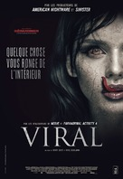 Viral - French DVD movie cover (xs thumbnail)