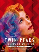 Twin Peaks: Fire Walk with Me - French Re-release movie poster (xs thumbnail)