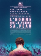 The Man Who Sold His Skin - French Movie Poster (xs thumbnail)