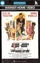 Live And Let Die - Finnish VHS movie cover (xs thumbnail)