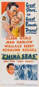 China Seas - Australian Movie Poster (xs thumbnail)