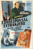 Foreign Correspondent - Argentinian Movie Poster (xs thumbnail)