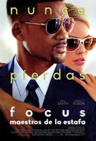 Focus - Mexican Movie Poster (xs thumbnail)