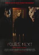 You're Next - Norwegian Movie Poster (xs thumbnail)
