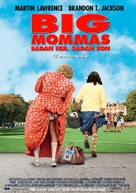 Big Mommas: Like Father, Like Son - Swedish Movie Poster (xs thumbnail)