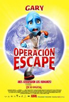 Escape from Planet Earth - Mexican Movie Poster (xs thumbnail)