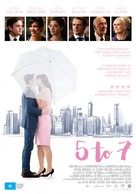 5 to 7 - Australian Movie Poster (xs thumbnail)