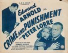 Crime and Punishment - Re-release movie poster (xs thumbnail)
