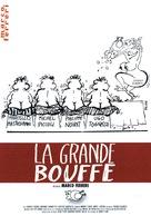 La grande bouffe - French DVD movie cover (xs thumbnail)