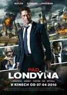 London Has Fallen - Czech Movie Poster (xs thumbnail)