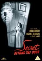 Secret Beyond the Door... - British DVD movie cover (xs thumbnail)