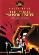 La chute de la maison Usher - French DVD cover (xs thumbnail)