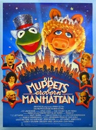The Muppets Take Manhattan - German Movie Poster (xs thumbnail)