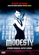 My Name Is Modesty - Czech poster (xs thumbnail)