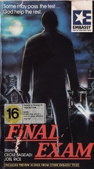 Final Exam - New Zealand VHS cover (xs thumbnail)