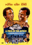 A Piece of the Action - DVD movie cover (xs thumbnail)