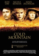 Cold Mountain - Spanish Movie Poster (xs thumbnail)