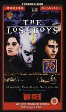 The Lost Boys - British Movie Cover (xs thumbnail)