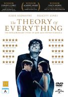 The Theory of Everything - Danish DVD cover (xs thumbnail)