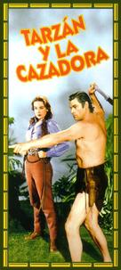 Tarzan and the Huntress - Spanish Movie Cover (xs thumbnail)