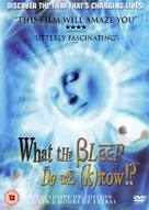 What the Bleep Do We Know - British DVD cover (xs thumbnail)