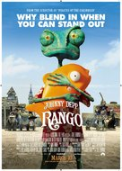 Rango - New Zealand Movie Poster (xs thumbnail)
